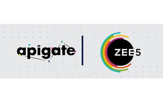 Apigate and ZEE5 announce a landmark partnership