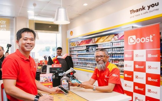 Boost eWallet now supports Shell