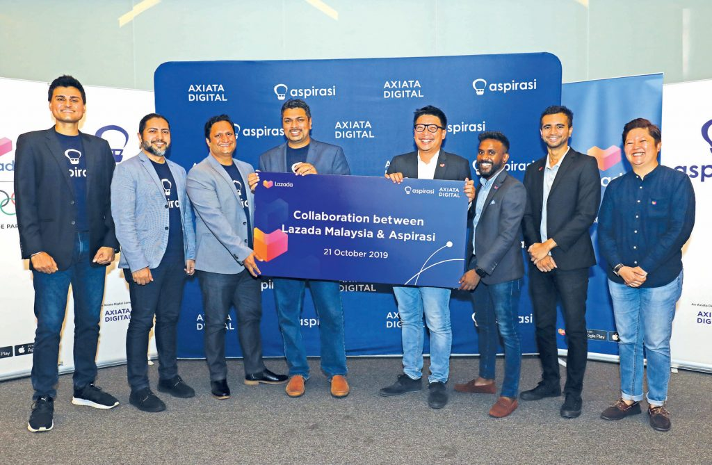 Axiata Digital's Aspirasi teams up with Lazada to provide financing to micro-entreprises and SMEs