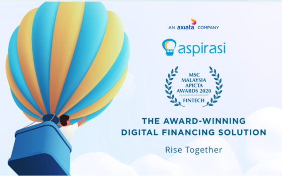 Aspirasi Named APICTA 2020 'Fintech Award' Winner
