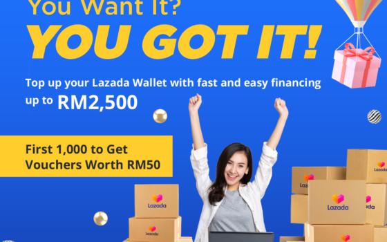 Aspirasi introduces Aspirasi CashNow for Shoppers on Lazada Malaysia